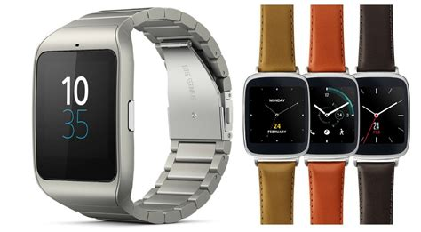 best android smartwatch best android wearable sony smartwatch 3 asus zenwatch