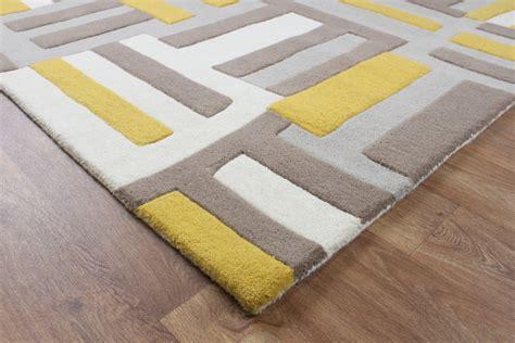 blue rug living room matrix code yellow wool rug max17 martin phillips