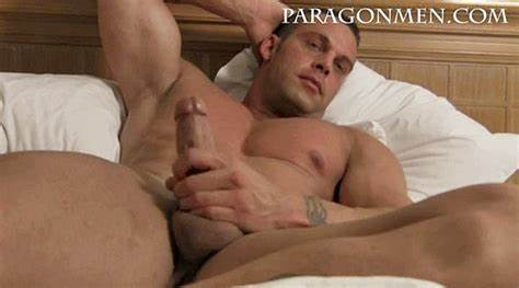 Meadows Stroke A Stiff Handsome Penis