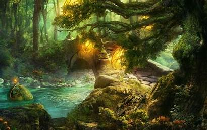 Forest Elven Fantasy 2898