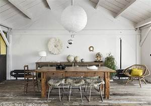 salle a manger rustique chic kate young design With deco salle a manger rustique