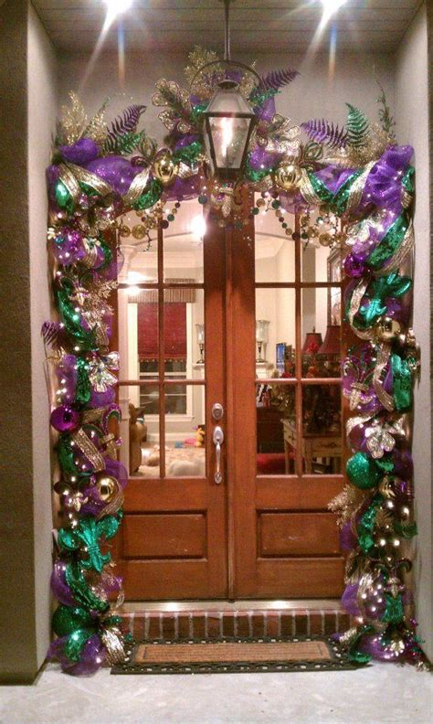 mardi gras front door decorations 19 best images about mardi gras on trees