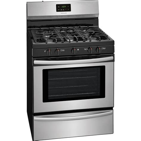 gas cooktop stove frigidaire 30 in 4 2 cu ft gas range in stainless steel
