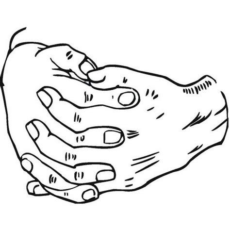 Biddende Handen Kleurplaat by Desenho De M 227 Os Cruzadas Para Colorir Tudodesenhos