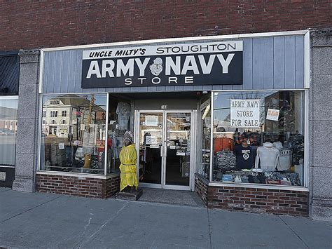 stoughton army navy store  reopen  saturday news
