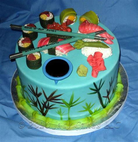 sushi birthday cake news from jacy cakes sushi cake