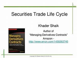 Securities Trade Life Cycle