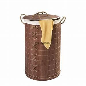 Panier à Linge Bambou : corbeilles linge design pas cher paniers linge ~ Dailycaller-alerts.com Idées de Décoration