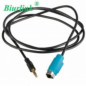 3 5mm Aux In Cable For Alpine Kce 236b Cde 9872 9881 Cda 9852 9870 9884 9886 9887