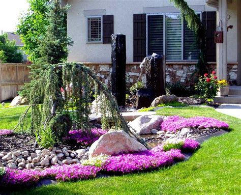 front yard landscaping with rocks ideas fabulous small front yard landscaping ideas with rocks