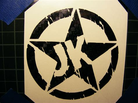 jeep carbon fiber decal jk vinyl sticker ebay