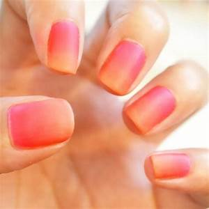 How To Do Ombre Nails · How To Paint A Gradient Nail