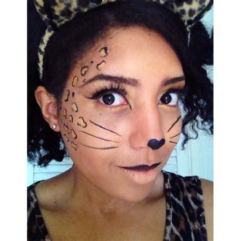 leopard make up easy make up looks leopard part one jade