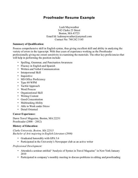 How To Write A Resume With No Experience Exle by Application Letter Proofreading Service Ca