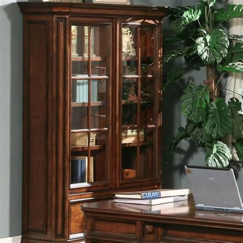 Two Door Bookcase by Riverside Furniture Cantata Two Door Barrister Bookcase 4934