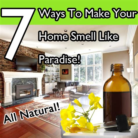7 Natural Ways To Make Your Home Smell Like Paradise