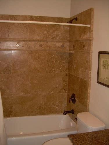 rustic bathtub tile surround tub shower surround 1
