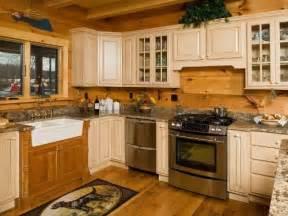 25 best ideas about log cabin kitchens on pinterest