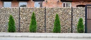 Pose D Un Grillage En Limite De Propriété : le mur de cl ture gabion ~ Premium-room.com Idées de Décoration