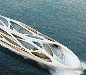 Zaha Hadid Architektur : fluid zaha hadid yacht inspiriert von der organischen architektur ~ Frokenaadalensverden.com Haus und Dekorationen