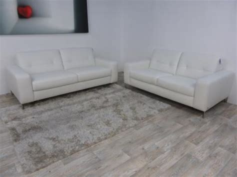 natuzzi editions high point 3 seater sofa bed and 2 seater