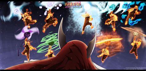 Senpou Chou Bijuu Rasen-shuriken!!!! By
