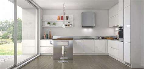 ideas  las cocinas modernas blancas