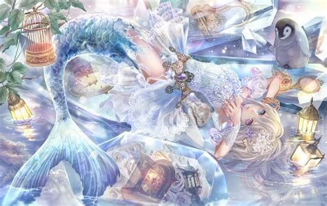 Anime Mermaid Wallpaper - anime mermaid wallpaper 58 images