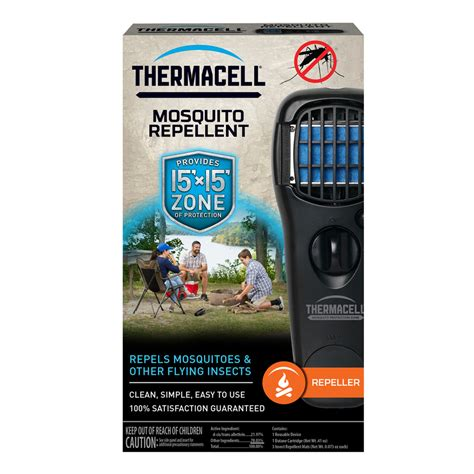 shop thermacell black repeller mosquito repellent at lowes