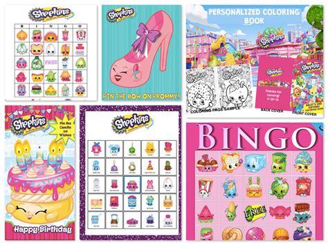 shopkins birthday party planning ideas supplies theme