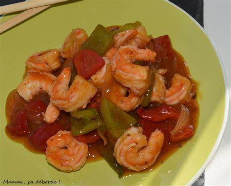 cuisiner crevette cuisine crevettes sauce piquante