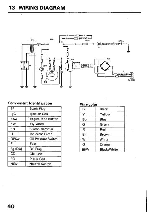 50 Hp Honda Outboard Wiring Diagram - All Kind Of Wiring