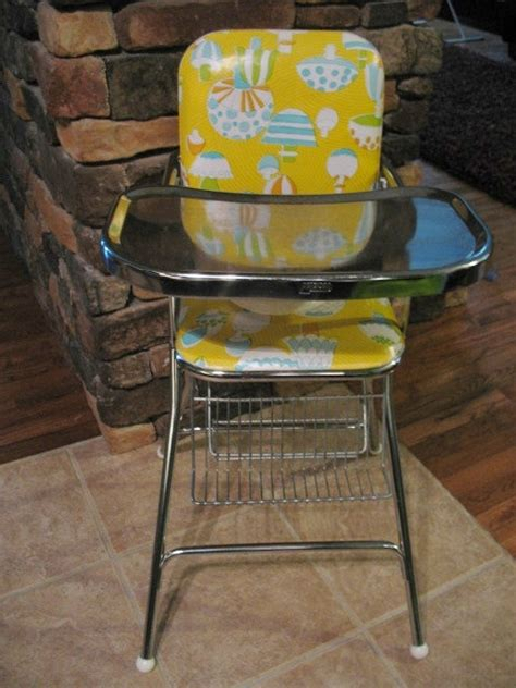 vintage cosco folding high chair pin by rice on vintage