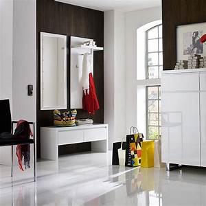 Designer Garderoben Set : garderobe 3 teilig garderoben set garderobe design modern in hochglanz wei ebay ~ Indierocktalk.com Haus und Dekorationen