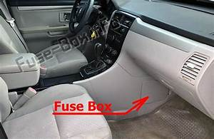 Fuse Box Diagram  U0026gt  Suzuki Xl7  2006