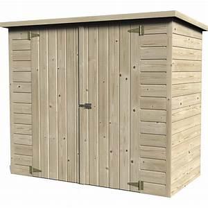 Abri Vélo Pas Cher : abri v lo bois naturelle x x cm ~ Premium-room.com Idées de Décoration