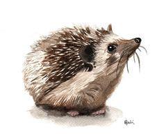 Little Hedgehog Art Human Body
