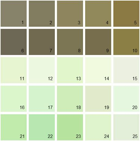 benjamin paint colors green palette 07 house paint colors
