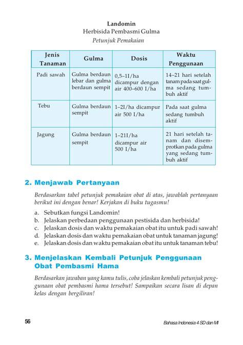 kelas iv sd bahasa indonesiakaswan darmadi
