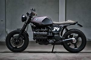 Bmw K 100 Cafe Racer : brutal beauty bmw k100 by motorecyclos columnm ~ Jslefanu.com Haus und Dekorationen