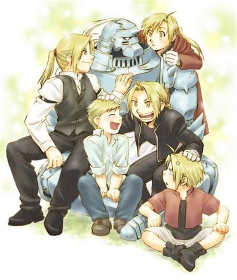 Brothers - different ages (Fullmetal Alchemist ...