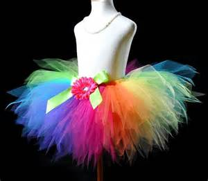crochet baby headband candy colorful rainbow pixie cut tutu skirt