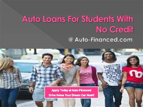 Car Loans For Students With No Credit