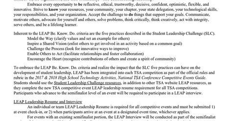 leap information docs