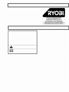 Page 3 Of Ryobi Blower 310r User Guide