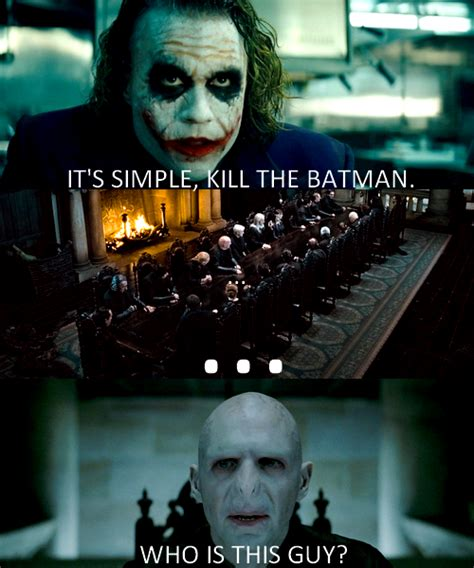 Batman Joker Meme - it s simple we kill the batman know your meme