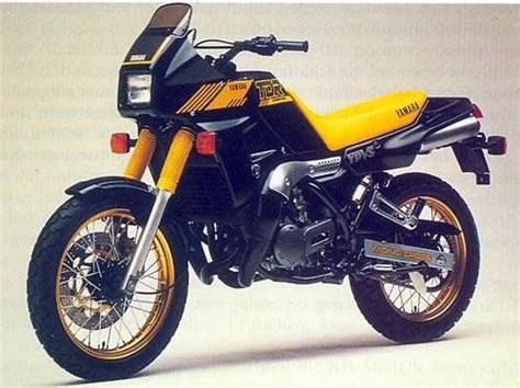 Yamaha Tdr? First Japanese Production Type Of Motard And
