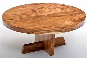 natural wood round coffee table modern design solid slab With round wood slab coffee table