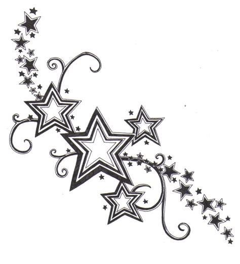 Tribal Stars Tattoo Design  Best Tattoo Design
