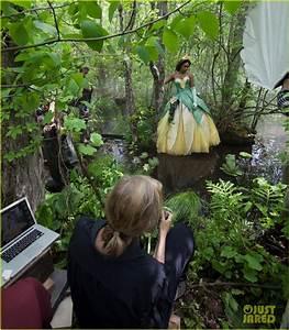 Full Sized Photo of jennifer hudson princess tiana disney ...